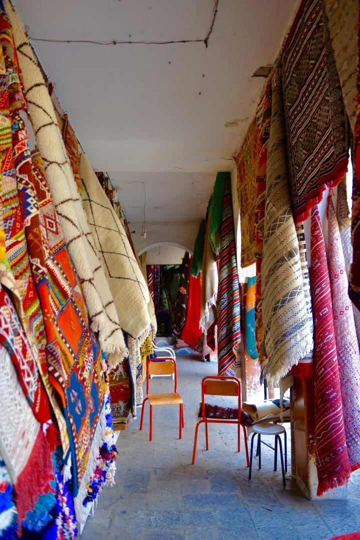 Déco : le tapis berbère en intérieurmoderne
