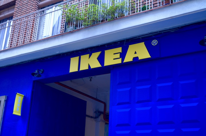 DÉCO : Pop up store Ikea!